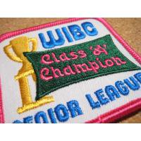アドバタイジング・組織系 デッドストック・WIBC CLASS A CHAMPION・ビンテージワッペン