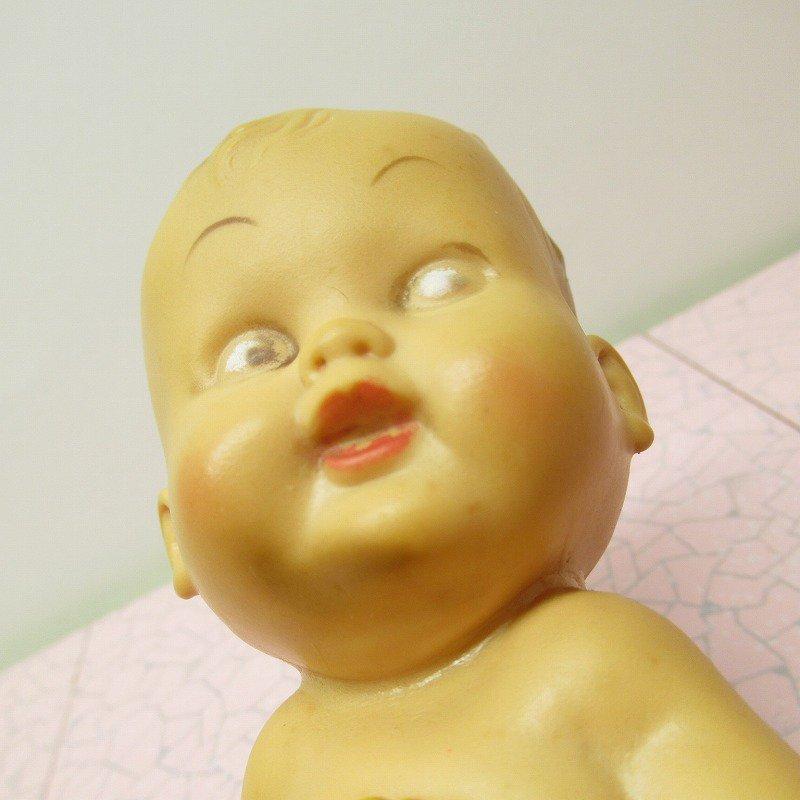 ラバードール ヴィンテージ 1956年 赤ちゃん と バスケット【画像2】