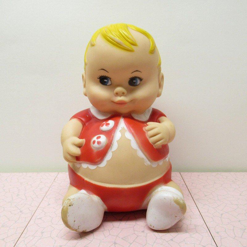 ラバードール 1967年 UNEEDA プラムピーズ ベビー 赤