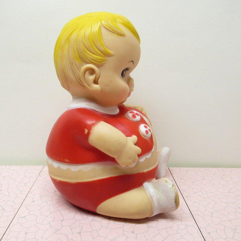 ラバードール 1967年 UNEEDA プラムピーズ ベビー 赤【画像7】