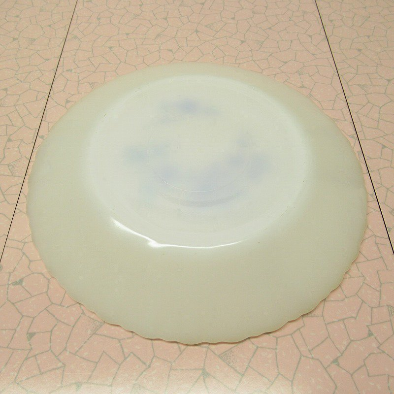 ターモクリサ ブルーフラワー サラダプレート D【画像7】