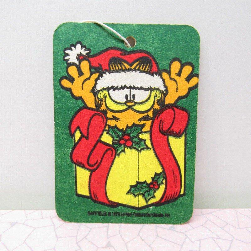 ガーフィールド エアフレッシュナー クリスマスプレゼント