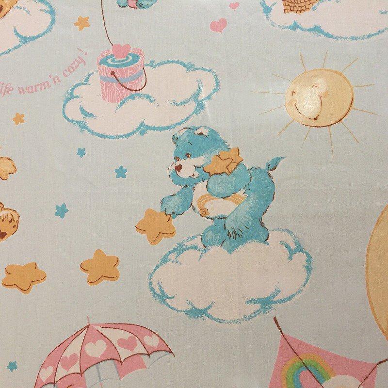 ヴィンテージシーツ ケアベア Snuggle フラット【画像2】