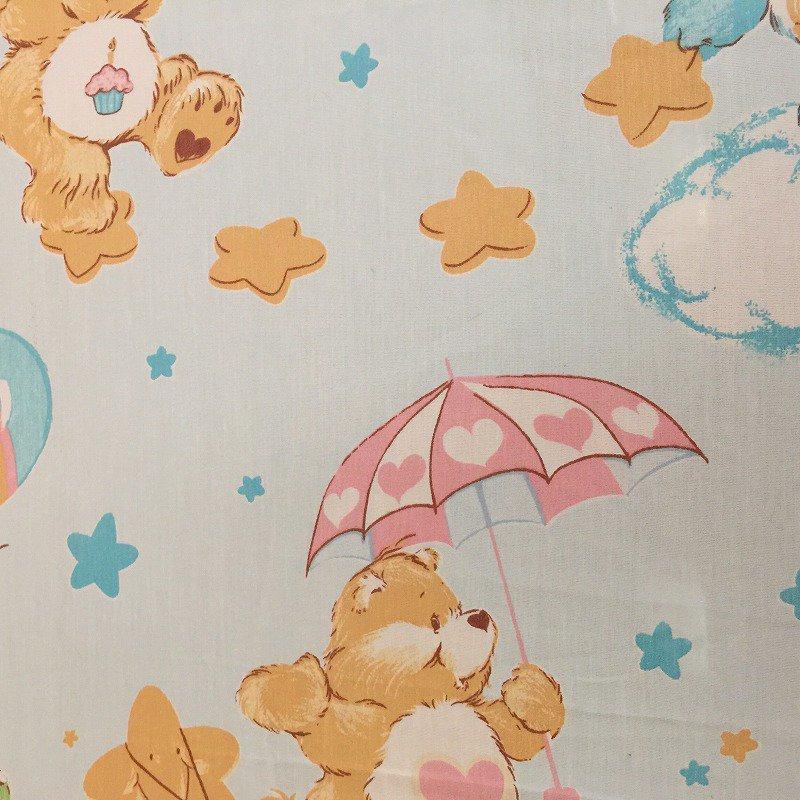 ヴィンテージシーツ ケアベア Snuggle フラット【画像6】