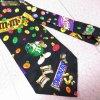 エムアンドエムズ M&M's &スイーツ シルク製 ネクタイ
