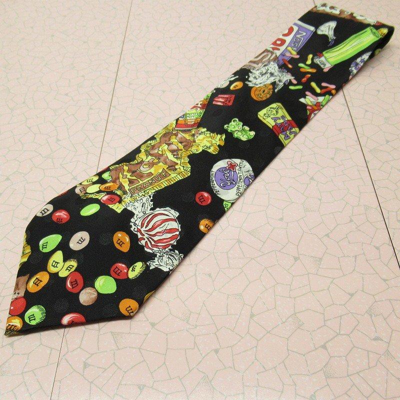 エムアンドエムズ M&M's &スイーツ シルク製 ネクタイ ニコルミラー