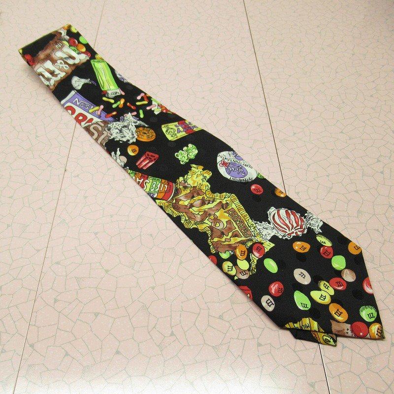 エムアンドエムズ M&M's &スイーツ シルク製 ネクタイ ニコルミラー【画像13】