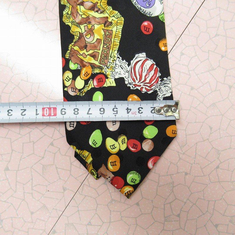 エムアンドエムズ M&M's &スイーツ シルク製 ネクタイ ニコルミラー【画像14】