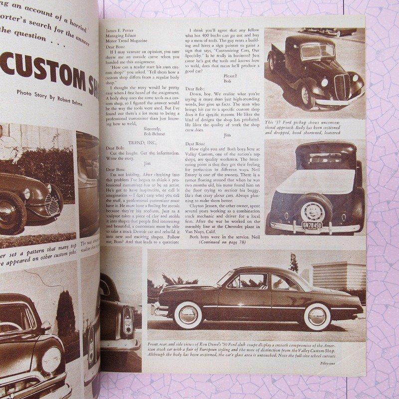 ヴィンテージマガジン 1953年7月 Motor Trend【画像7】
