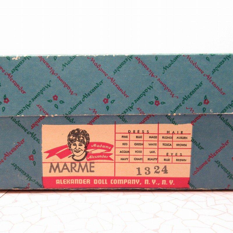 マダムアレキサンダー Marme 箱付 12インチ ドール 1976年 スタンド付き【画像15】