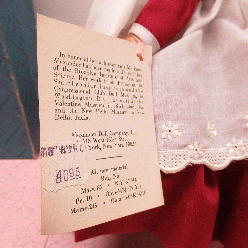 マダムアレキサンダー Marme 箱付 12インチ ドール 1976年 スタンド付き【画像5】