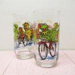 キャラクター  マペットショー マクドナルド グラス 自転車 1981年