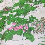 ヴィンテージ雑貨  ラッピングペーパー 観葉植物2枚セット