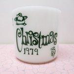 キッチン&リビング  ファイヤーキング マグ 1979年 クリスマス