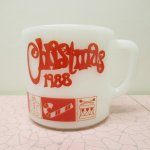 ★NEW ARRIVAL★  ファイヤーキング マグ 1988年 クリスマス