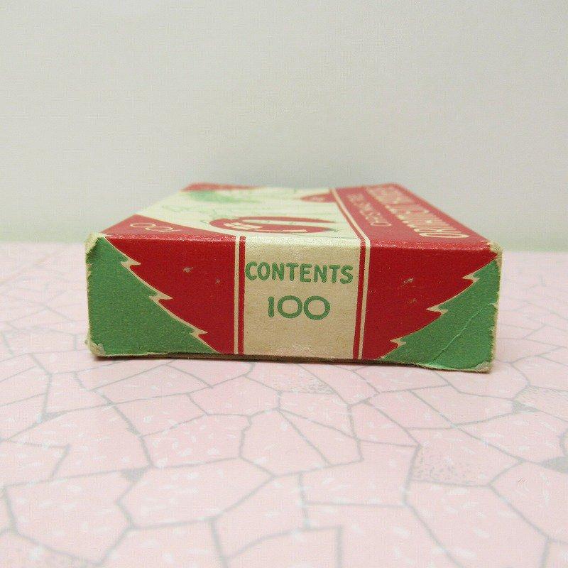 クリスマス ヴィンテージパッケージ オーナメントフック用 箱 A【画像2】