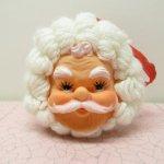 クリスマス デコレーション ヴィンテージ サンタ ドアノブ 飾り