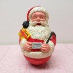 クリスマス デコレーション ヴィンテージ サンタ 起き上がりこぼし 1963年
