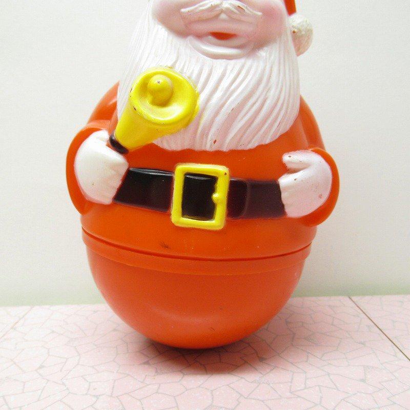 クリスマス デコレーション ヴィンテージ サンタ 起き上がりこぼし 1971年 A【画像3】