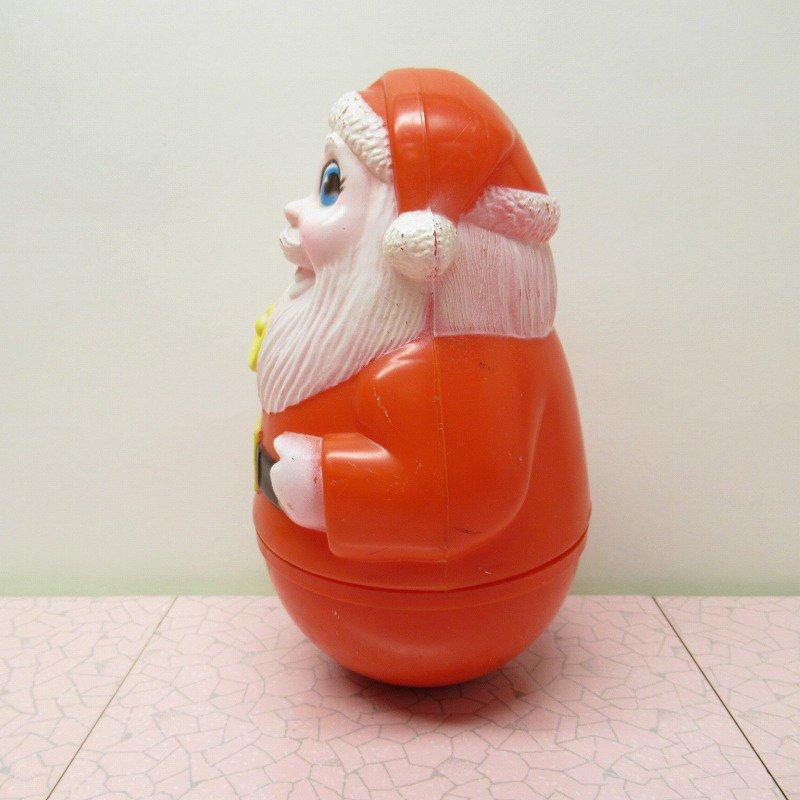 クリスマス デコレーション ヴィンテージ サンタ 起き上がりこぼし 1971年 A【画像4】