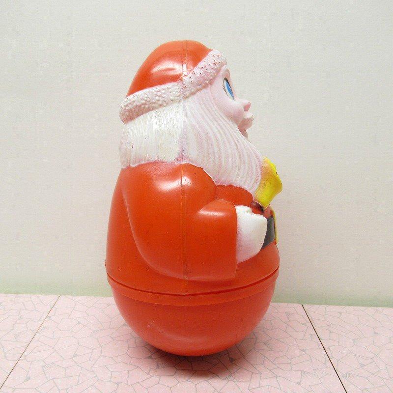 クリスマス デコレーション ヴィンテージ サンタ 起き上がりこぼし 1971年 A【画像6】
