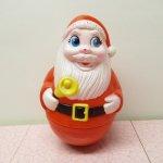 クリスマス デコレーション ヴィンテージ サンタ 起き上がりこぼし 1971年 A