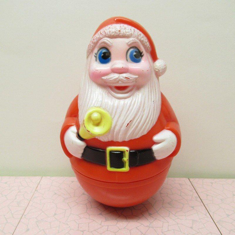 クリスマス デコレーション ヴィンテージ サンタ 起き上がりこぼし 1971年 B