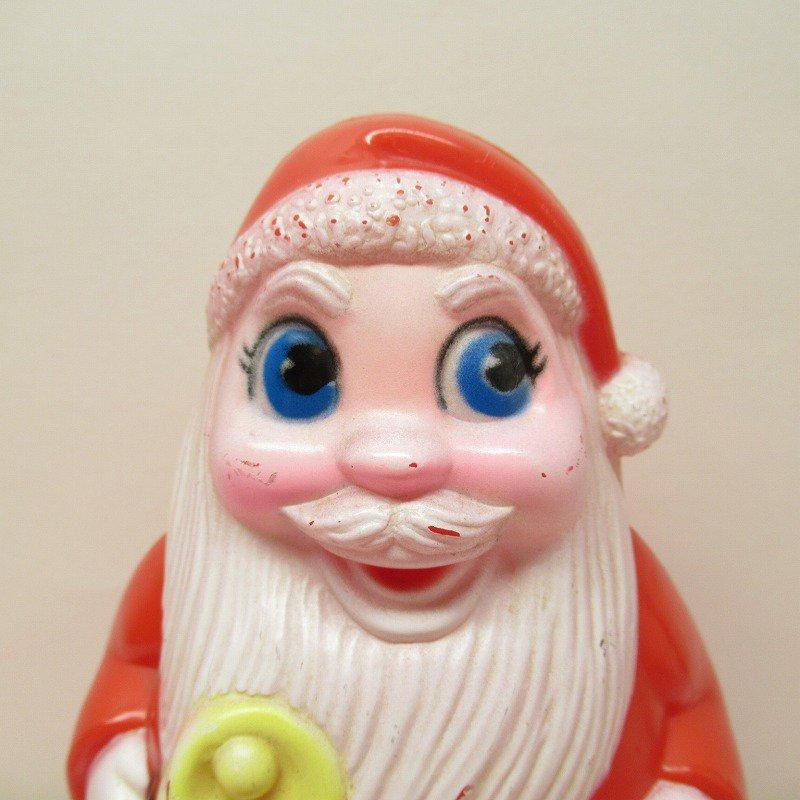 クリスマス デコレーション ヴィンテージ サンタ 起き上がりこぼし 1971年 B【画像2】