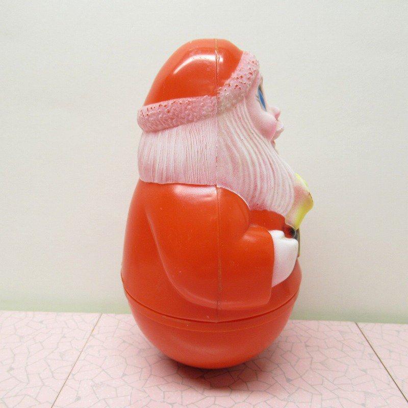 クリスマス デコレーション ヴィンテージ サンタ 起き上がりこぼし 1971年 B【画像4】