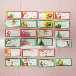 クリスマス用 紙タグ 23枚セット