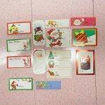 クリスマス用 紙タグ 15枚セット