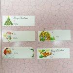 クリスマス用 紙タグ 5枚セット