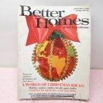 オーナメント&デコレーション  ヴィンテージマガジン Better Homes 1968年 クリスマス版