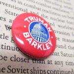 選挙  ヴィンテージ缶バッジ Truman 1948年 大統領選挙 米国製