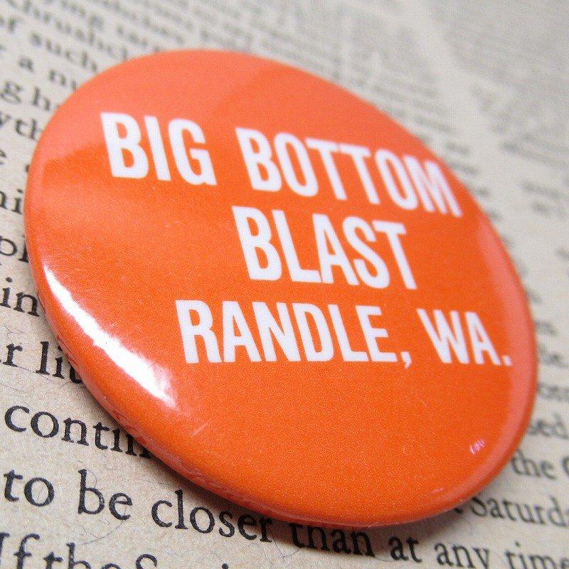 ヴィンテージ缶バッジ Big Bottom Blast