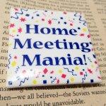その他  ヴィンテージ缶バッジ Home Meeting Mania!