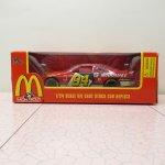 ダイキャスト&ミニカー  マクドナルド トイ Monopoly NASCAR ダイキャストカー 1996年 未開封箱付
