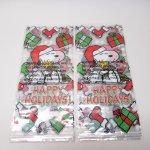 オーナメント&デコレーション  スヌーピー 日本未販売 クリスマス セロファン バッグ 12枚セット 未使用