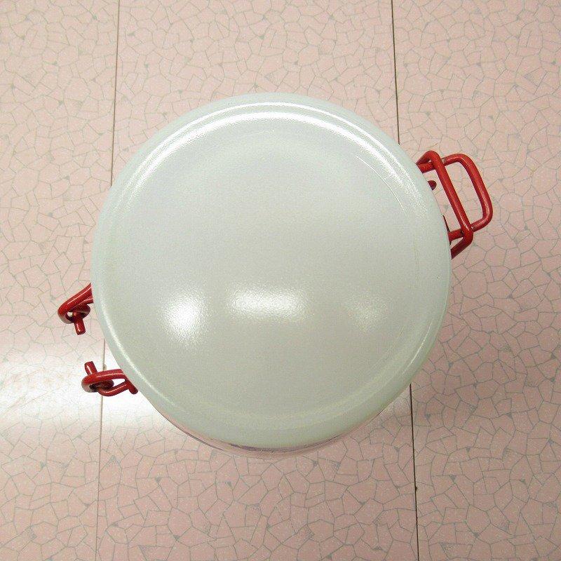 アンカーホッキングドウボーイ レッドアクセント ガラスジャー Mサイズ B【画像6】