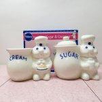ドウボーイ シュガー クリーマー セット 陶器製 箱付き デッドストック