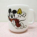 フェデラル  ミッキーマウス クラブ リビー社 ミッキー と 蜂 マグ
