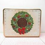 販促系  オレオ OREO クリスマス 1990年限定 ティン缶