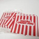 その他  ラッピング キャンディストライプ 紙袋 未使用10枚セット