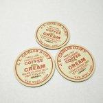 ミルクキャップ  ミルクキャップ ヴィンテージ J.B. Gribler Coffee Cream 蓋