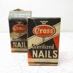 パッケージ&パッケージに味のある雑貨&チーズボックスなど  ジャンク雑貨 パッケージ NAILS Clinch Nails