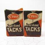 パッケージ&パッケージに味のある雑貨&チーズボックスなど  ジャンク雑貨 パッケージ Tacks Hand Shoe 1 1/2