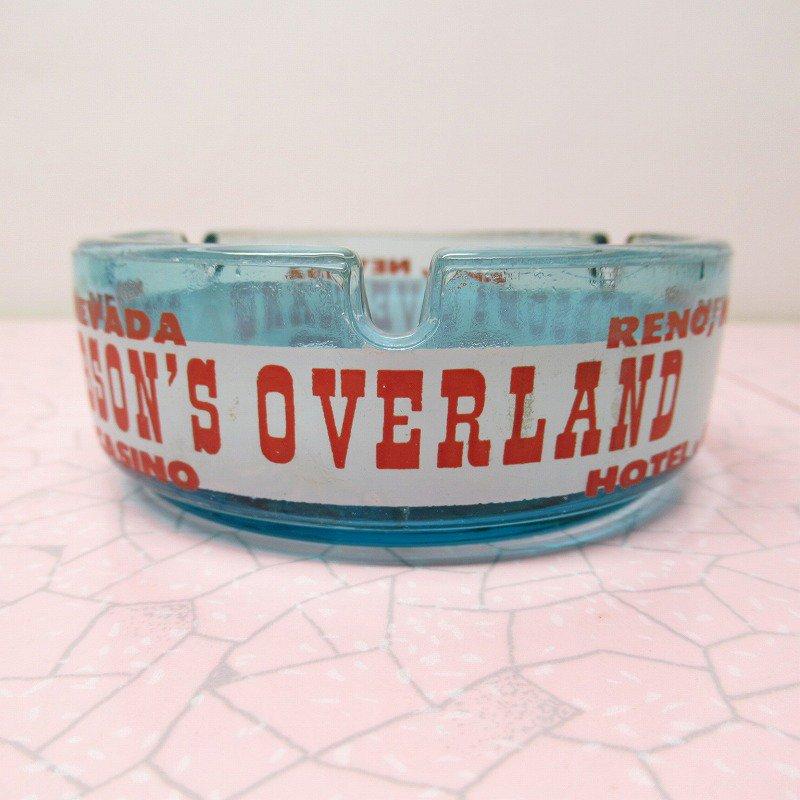 ヴィンテージ 灰皿 Pick Hobson's Overland ブルーカラー アッシュトレイ【画像2】