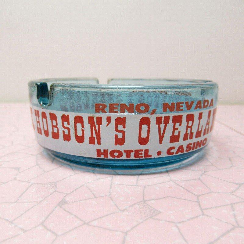 ヴィンテージ 灰皿 Pick Hobson's Overland ブルーカラー アッシュトレイ【画像4】