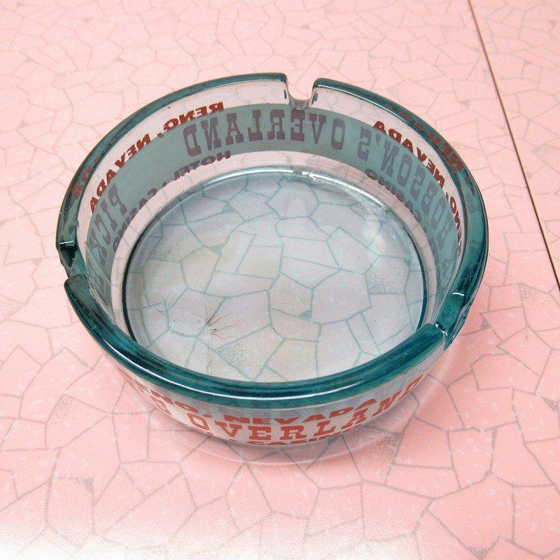 ヴィンテージ 灰皿 Pick Hobson's Overland ブルーカラー アッシュトレイ【画像6】