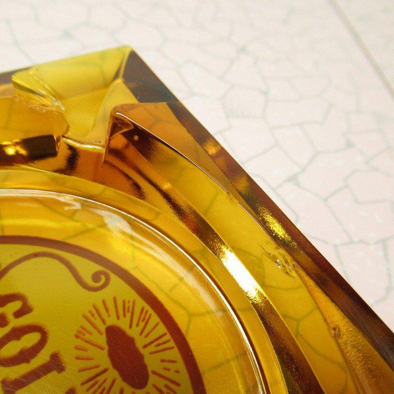 ヴィンテージ 灰皿 Golden Nugget アンバーカラー アッシュトレイ【画像8】